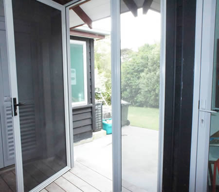 Porch Secured with Stainless Steel Security Screens