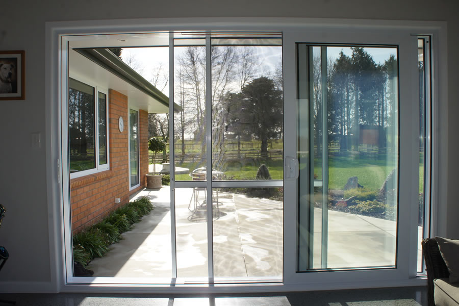 Fly insect screens viking security hamilton waikato for Flyscreens for french doors